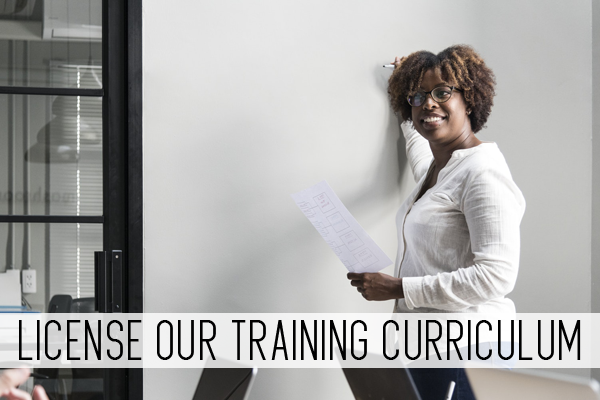 license our training curriculum