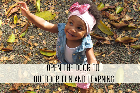 open the door to outdoor fun and learning online child care class