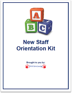 New Staff Orientation Kit