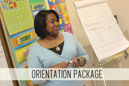 orientation package online child care classes