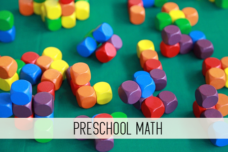 preschool math online child care class
