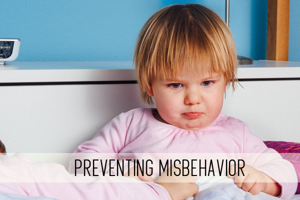 preventing misbehavior online child care class