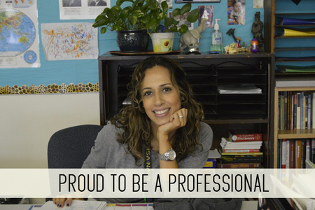 Proud to be a Professional!