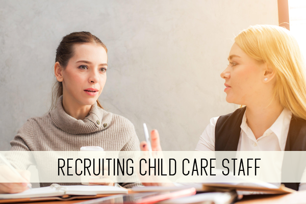 recruiting child care staff online child care class