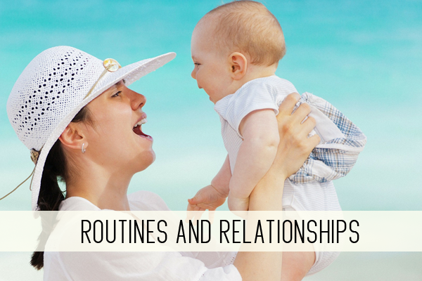 routines and relationships online child care class
