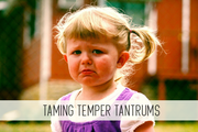 taming temper tantrums online child care class