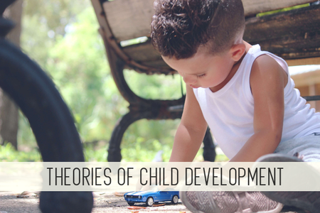 theories of child development online child care class