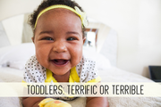 toddlers: terrific or terrible online child care class
