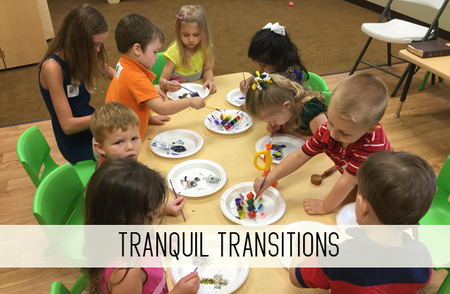 tranquil transitions online child care class