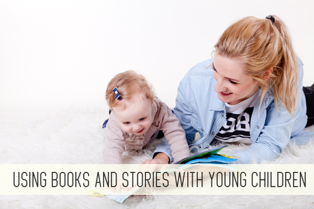 using books and stories with young children online child care class