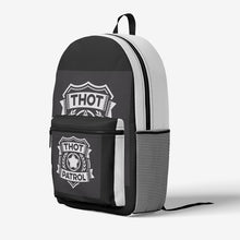 Load image into Gallery viewer, THOT PATROL Retro Colorful Print Trendy Backpack - Lilrobinzz-clout