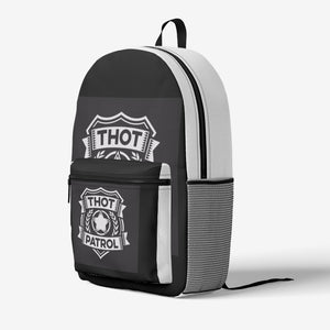 THOT PATROL Retro Colorful Print Trendy Backpack - Lilrobinzz-clout