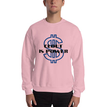 Load image into Gallery viewer, clout is power Unisex Sweatshirt - Lilrobinzz-clout