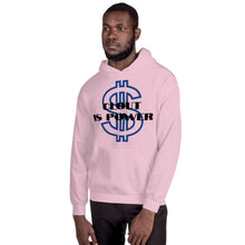 Load image into Gallery viewer, clout is power Unisex Hoodie - Lilrobinzz-clout