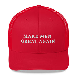 MAKE MEN GREAT AGAIN Trucker Cap - Lilrobinzz-clout