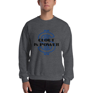clout is power Unisex Sweatshirt - Lilrobinzz-clout