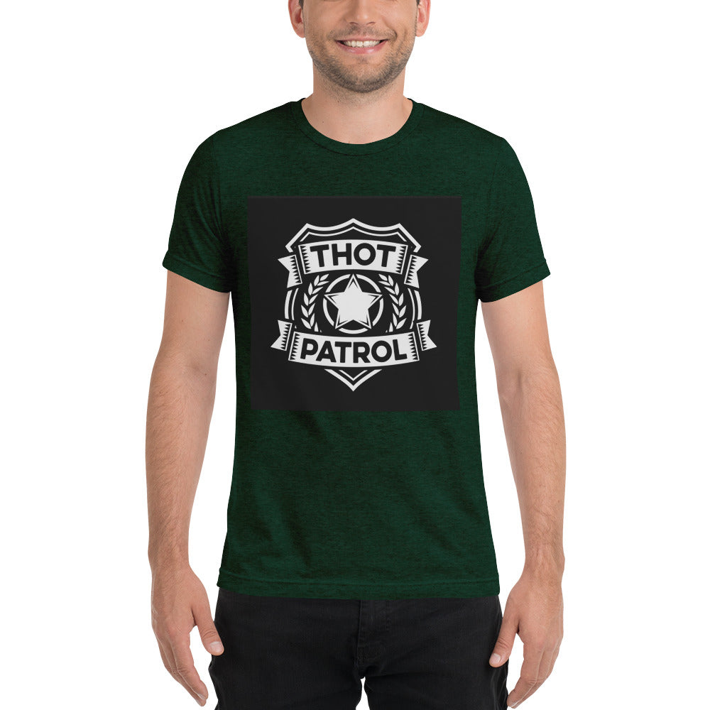 Short sleeve t-shirt (THOT PATROL APPROVED) - Lilrobinzz-clout