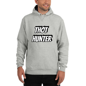 THOT HUNTER Champion Hoodie - Lilrobinzz-clout