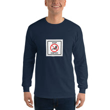 Load image into Gallery viewer, stop simping Men's Long Sleeve Shirt - Lilrobinzz-clout