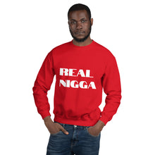 Load image into Gallery viewer, REAL NIGGA Unisex Sweatshirt - Lilrobinzz-clout