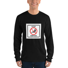 Load image into Gallery viewer, Stop simping Long sleeve t-shirt - Lilrobinzz-clout