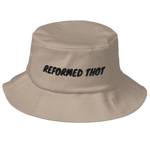 REFORMED THOT Old School Bucket Hat - Lilrobinzz-clout