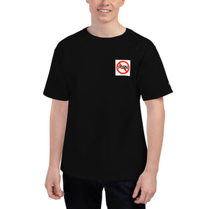 NO PORN Men's Champion T-Shirt - Lilrobinzz-clout