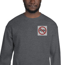 Load image into Gallery viewer, SAY NO TO PORN Unisex Sweatshirt - Lilrobinzz-clout