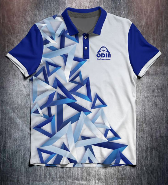 3D Triangles design shirt