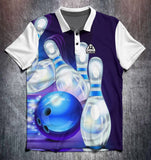 Bowling ball & Pins (Various designs) shirt