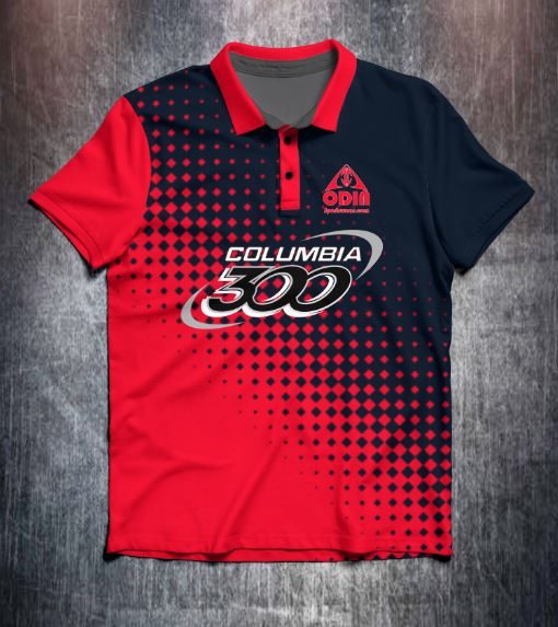 Columbia 300 Branded (Various designs) shirt