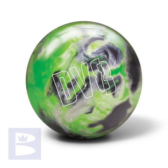 Polyester Bowling Ball - DV8 - Lime Luster