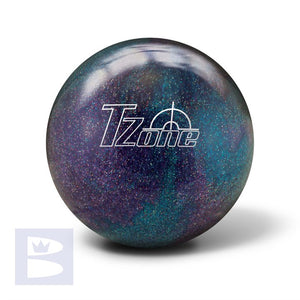 Polyester Bowling Ball - Brunswick T Zone - Deep Space