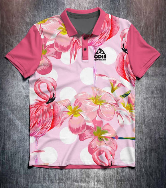 Pink Flamingo Tenpin Bowling Shirt and Apparel