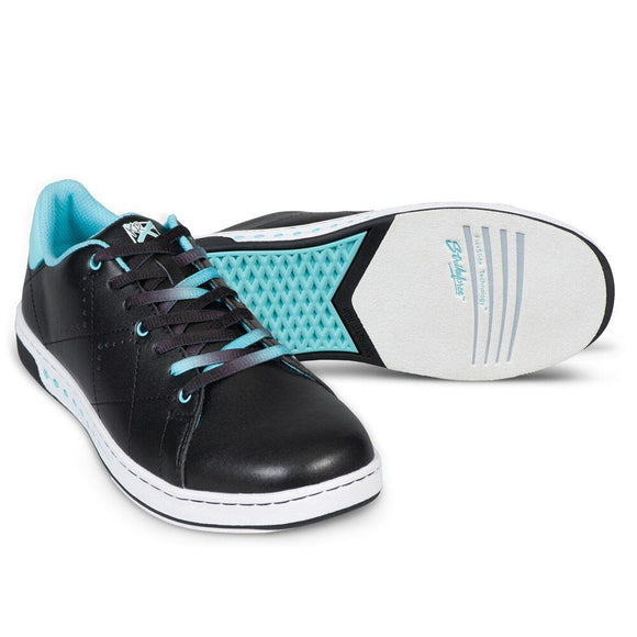 Gem Black/Teal Womens Shoes