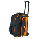 Orange 2 ball roller double roller bowling bag