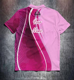 Pink Waves Tenpin Bowling Shirt and Apparel