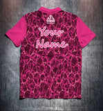 Pink Net Tenpin Bowling Shirt and Apparel
