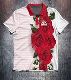 Red Roses Tenpin Bowling Shirt and Apparel
