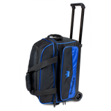 Royal Blue 2 ball roller double roller bowling bag