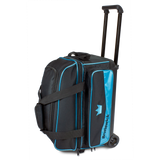 Sky Blue 2 ball roller double roller bowling bag