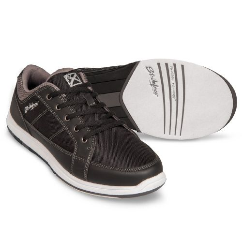 Spartan Black/Charcoal Strikeforce Bowling Shoes Mens