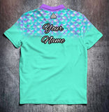 Mermaid design shirt