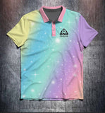 Pastel Rainbow Tenpin Bowling Shirt and Apparel