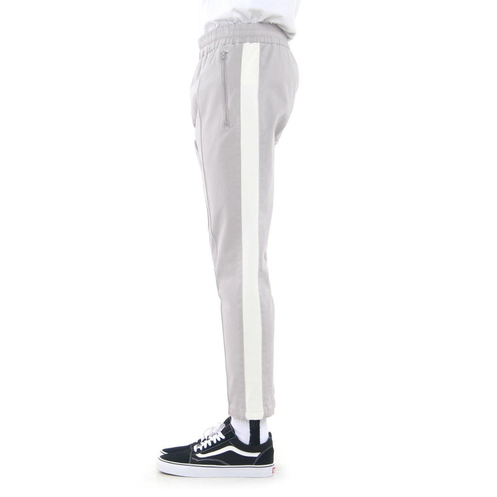 Cropped Twill Pants (White)