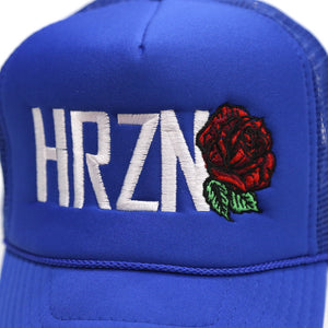 Royal Blue HRZN Trucket Hat