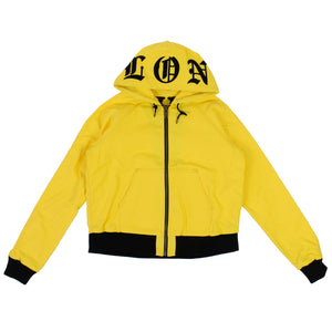 Yellow Canvas Hoodie