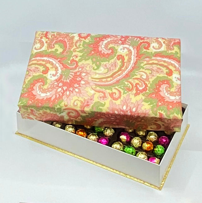 144 Piece Pink Silk Box
