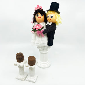 2 Piece Bride and Groom Truffle Box