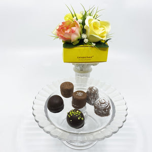6 Piece Yellow Spring Box